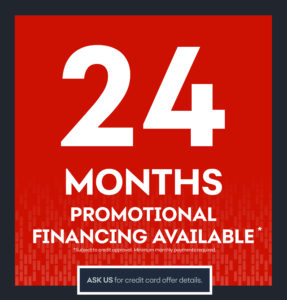 For your Heating needs look into our Promo Financing options!